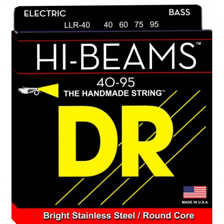 DR Strings Hi Beams LLR40 Lite-Lite