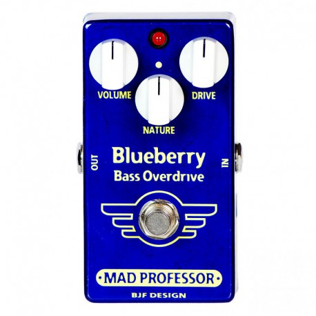 Mad Professor Blueberry Bass Overdrive PCB
