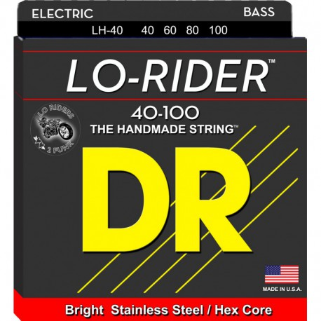 DR Strings Lo Rider LH40 Lite