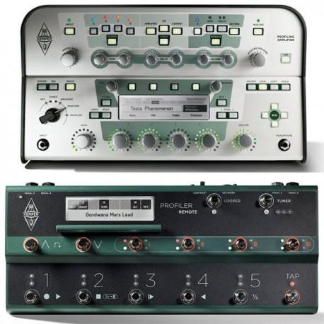 Kemper Profiler Head White + Profiler Remote Set