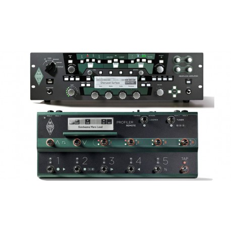 Kemper Profiler Rack + Profiler Remote Set
