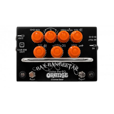 Orange Bax Bangeetar Pre-EQ