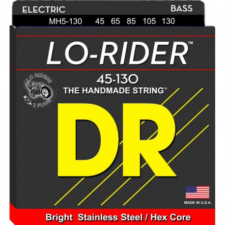 DR Strings Lo Rider MH5-130 Medium 5's