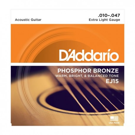 Daddario EJ15 Phosphor Bronze