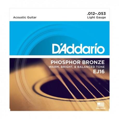 Daddario EJ16 Phosphor Bronze