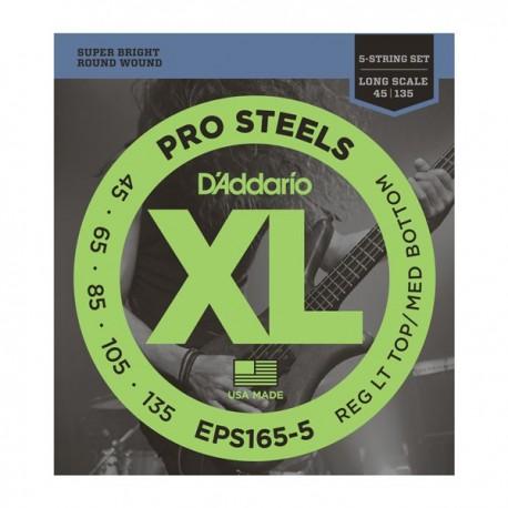Daddario EPS165-5 ProSteels