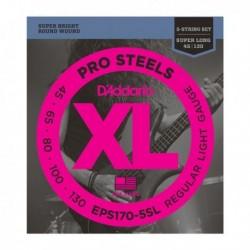 Daddario EPS170-5SL ProSteels