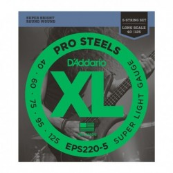 Daddario EPS220-5 ProSteels