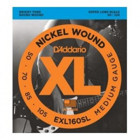 Daddario EXL160SL Bass