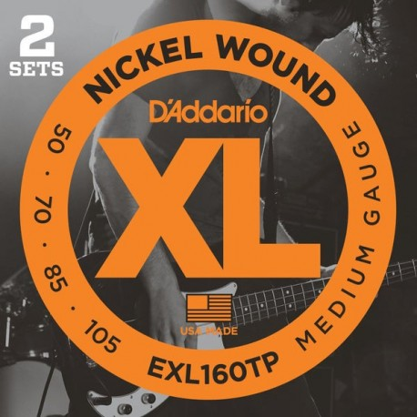 Daddario EXL160 Bass Twin Pack