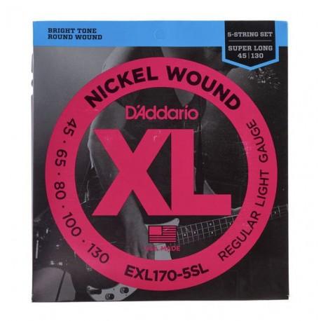 Daddario EXL170-5SL Bass Super Long