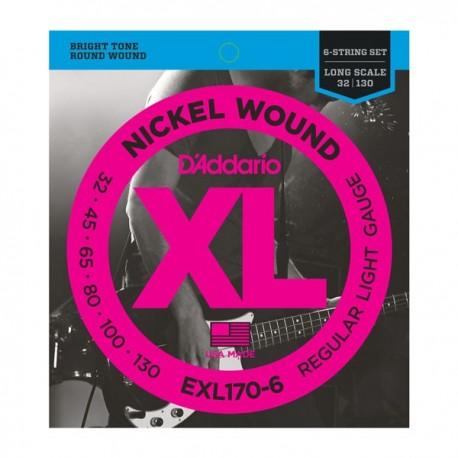 Daddario EXL170-6 Bass