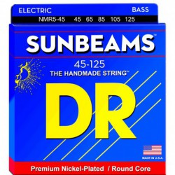 DR Strings Sunbeams NMR5-45 Medium 5's
