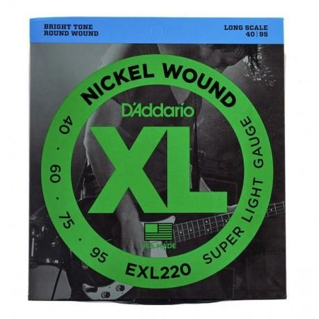 Daddario EXL220 Bass