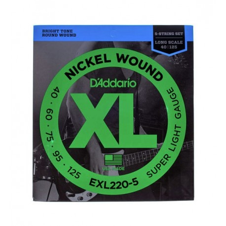 Daddario EXL220-5 Bass