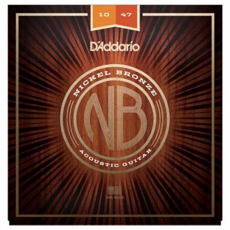 Daddario Nickel Bronze 10-47