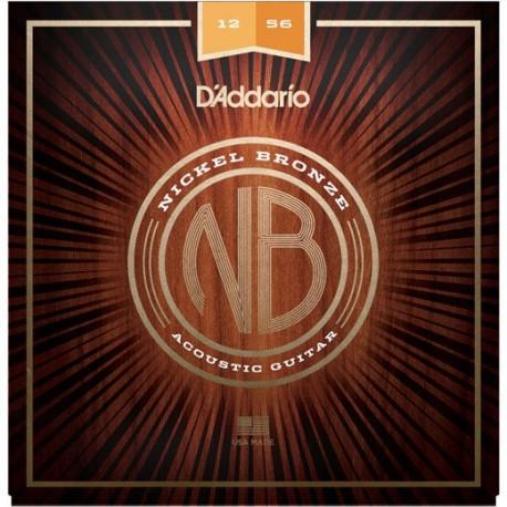 Daddario Nickel Bronze 12-56