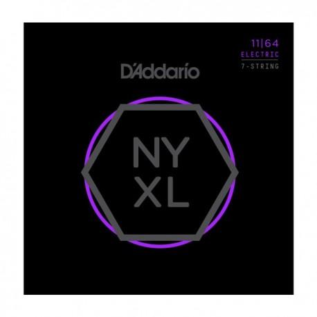 Daddario NYXL 11-64 Medium 7 String