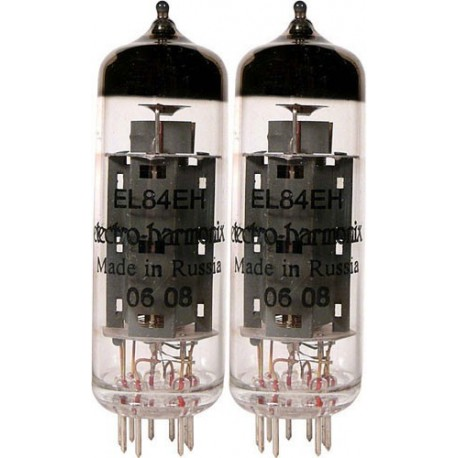Electro Harmonix EL84 Platinum Matched Pair