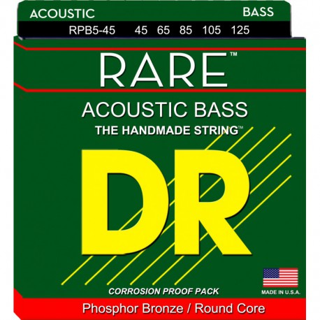DR Strings Rare RPB5-45 Medium 5's