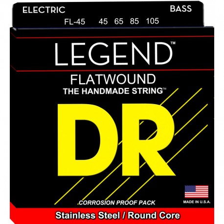 DR Strings Legend FL45 Medium