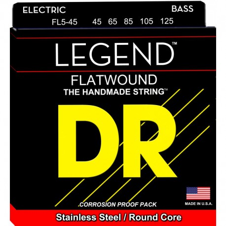 DR Strings Legend FL5-45 Medium 5's