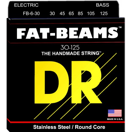 DR Strings FB6-30 Medium 6's