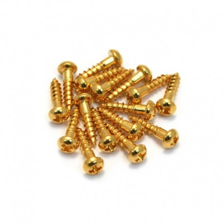 Allparts Gold Long Machine Head Screws