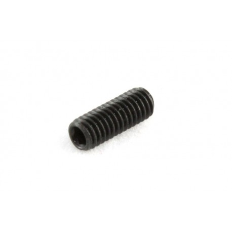 Allparts Black M3x8 Guitar Bridge Height Screws