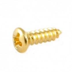 Allparts Gold Gibson Size Pickguard Screws