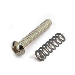 Allparts Nickel Metric Bridge Length Screws