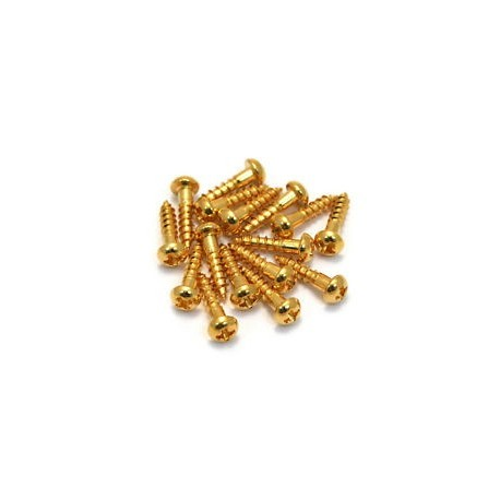 Allparts Gold Small Tuner Screws