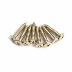 Allparts Nickel Short Humbucking Ring Screws