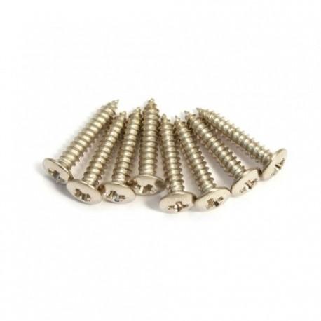 Allparts Nickel Short Humbucking Ring Screws