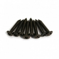 Allparts Black Short Humbucking Ring Screws