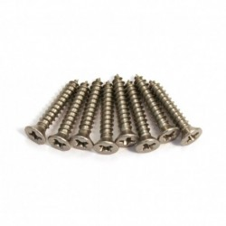 Allparts Steel Short Humbucking Ring Screws