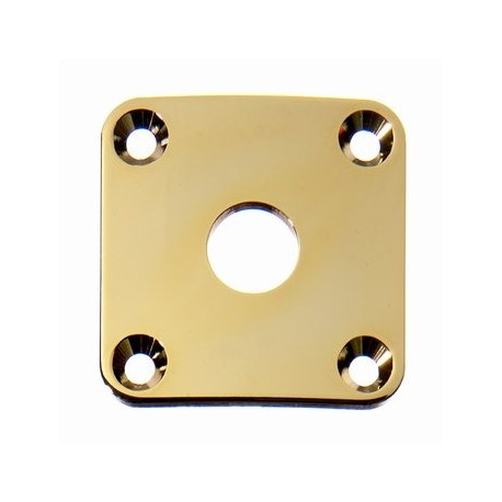 Allparts Gold Metal Jackplate For Les Paul