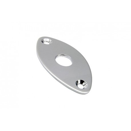 Allparts Gotoh Chrome Football Jackplate