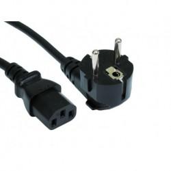 Schuko AC Cord Black 3m