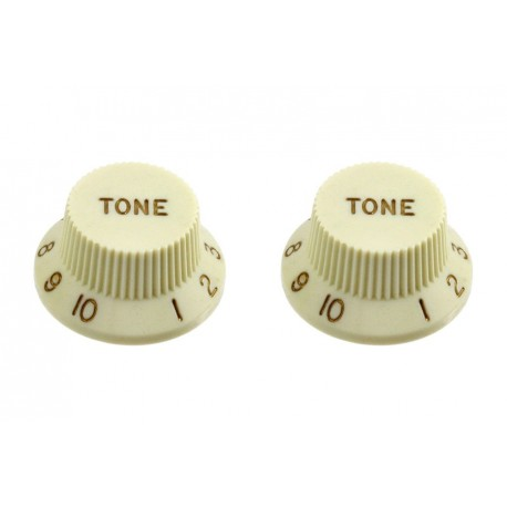 Allparts White Tone Knob
