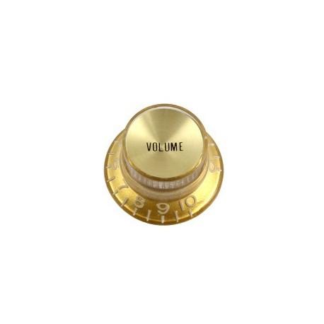 Allparts Gold Volume Reflector Knob