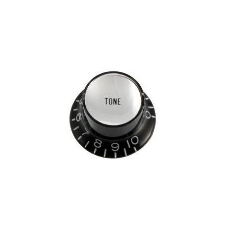 Allparts Black Tone Reflector Knob