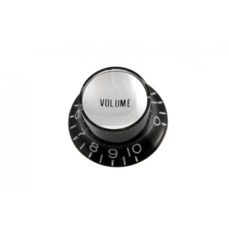 Allparts Black Volume Reflector Knob