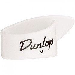 Dunlop Thumb Pick Medium White Lefty