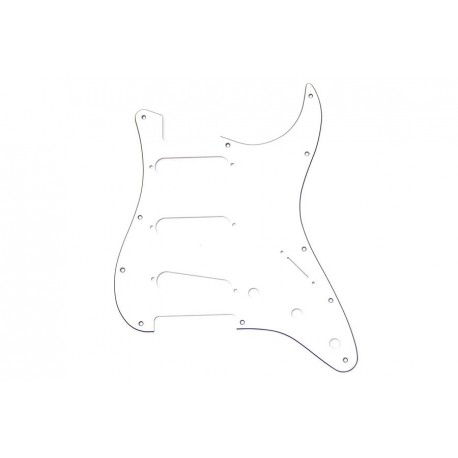 Allparts White Pickguard for Stratocaster