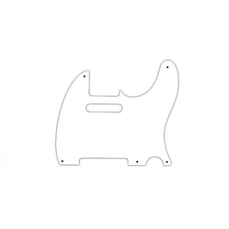 Allparts White Pickguard for Telecaster
