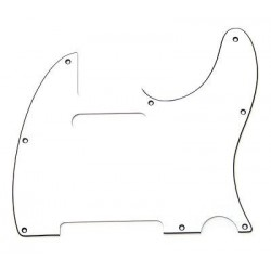 Allparts 3-Ply White Pickguard for Telecaster