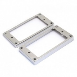 Allparts Humbucking Pickup Rings Slanted Chrome