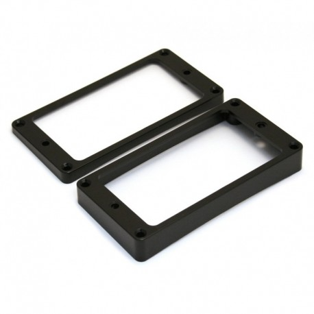 Allparts Humbucking Pickup Rings Curved Black