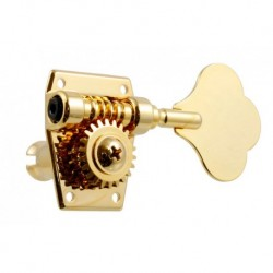 Allparts 4-L Import Bass Tuners Gold